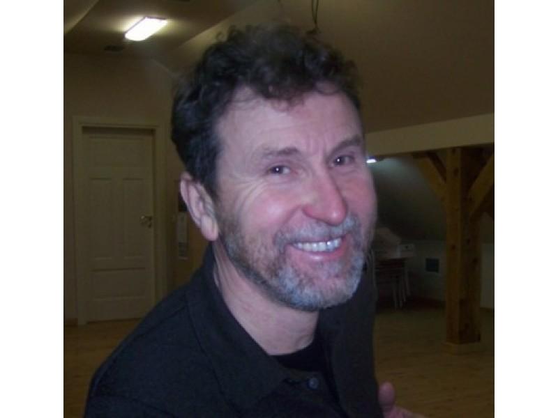 """Palangos """"Grubiojo"""" teatro režisierius Virginijus Milinis."""
