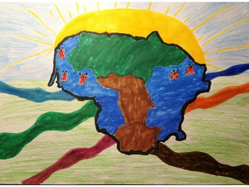 Laisvės dvelksmas Šventosios pagrindinėje mokykloje