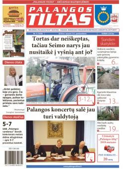 Palangos tilto laikraštis, Data: 2018-02-02, Numeris: 5(1630)