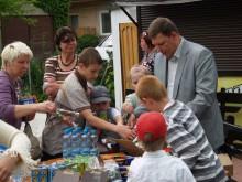 """UAB """"Timotis"""" savininkas T. J. Žulkus renginį Tarptautinės vaikų gynimo dienos proga parėmė jau ketvirtus metus."""