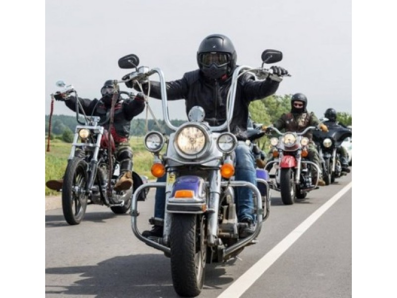 Šventojoje griaudėjo galingi motociklai