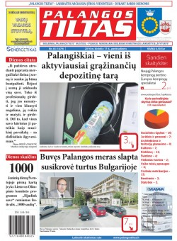 Palangos tilto laikraštis, Data: 2016-06-16, Numeris: 45(1479)