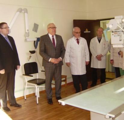 Palangos ligoninėje – itin modernus rentgeno aparatas