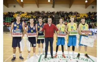 Palangoje praūžė Moksleivių krepšinio lygos šventė