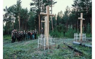 """Pastačiusi naujus kryžius Sibire, į Lietuvą sugrįžo """"Misija Sibiras'17"""" ekspedicija"""