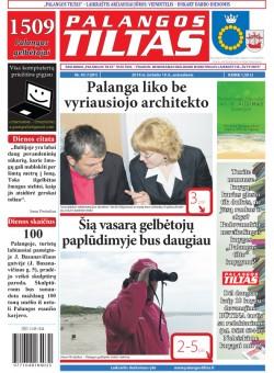 Palangos tilto laikraštis, Data: 2014-06-09, Numeris: 43 (1281)