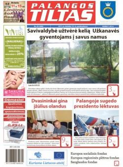Palangos tilto laikraštis, Data: 2011-06-09, Numeris: 45 (989)