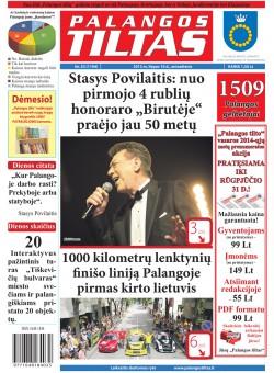 Palangos tilto laikraštis, Data: 2013-07-15, Numeris: 53 (1194)