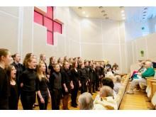 S. Vainiūno meno mokyklos ugdytinių koncertas Palangos ligoninėje.