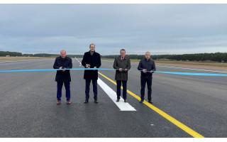 Palangos oro uosto rekonstrukcija baigta: oro vartai pasiruošę atnaujinti veiklą