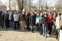 Kovo 11-osios bėgime iki Prezidento ąžuolo dalyvavo 350 gimnazistų