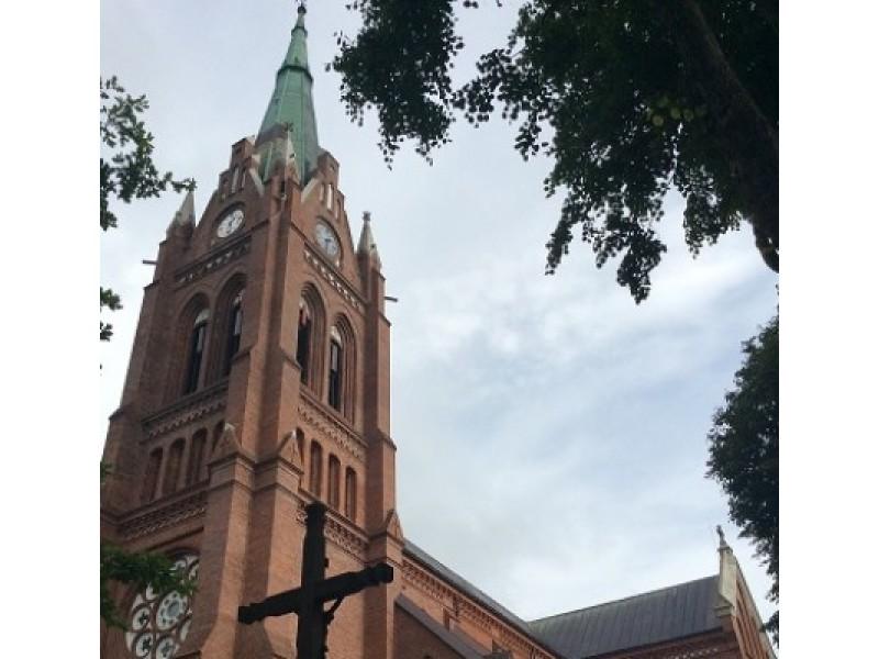 110 metų sukaktį mininti Palangos bažnyčia sekmadienį pakvies į  bokšto apžvalgos aikštelę