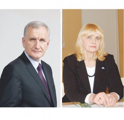 """Antrajame rinkimų į Seimą ture susigrums konservatorius P. Žeimys ir """"darbietė"""" G. Krasauskienė"""