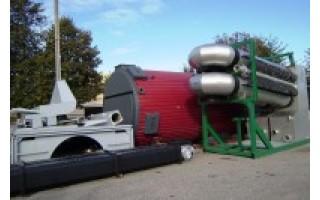Į Palangą atgabentas pirmasis iš dviejų kurorte įrengti numatytų biokuro katilų