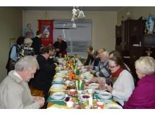 Jau ketvirtąjį kartą kartu su Palangos parapijos tikinčiaisiais bei kunigais Kūčių vakarienės sėdo ir vyskupas J. Boruta.