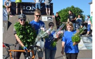 Žinią apie Palangą T. Lubys per Lietuvą nešė mindamas dviračio pedalus