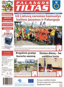 Palangos tilto laikraštis, Data: 2011-08-03, Numeris: 59 (1003)