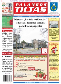 Palangos tilto laikraštis, Data: 2013-11-21, Numeris: 88 (1229)