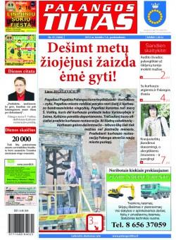 Palangos tilto laikraštis, Data: 2012-05-31, Numeris: 41 (1084)