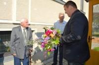 Šimtametį švenčiančiam palangiškiui P. Šedžiui – sveikinimai