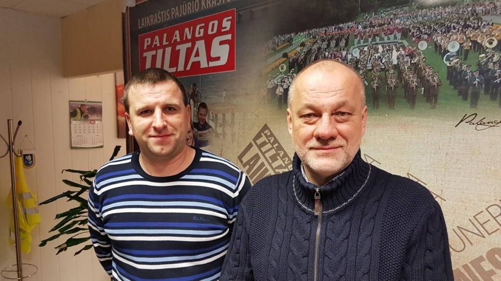 Jonas Skoris ir Arūnas Zabitis