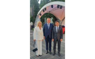 Valstybės dienos proga Palangos meras Šarūnas Vaitkus su žmona Vilma pakviesti į Prezidentūrą bendravo ir su Ukrainos Prezidentu (FOTO GALERIJA)