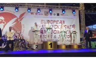 Julija Balčiūtė – Europos čempionė