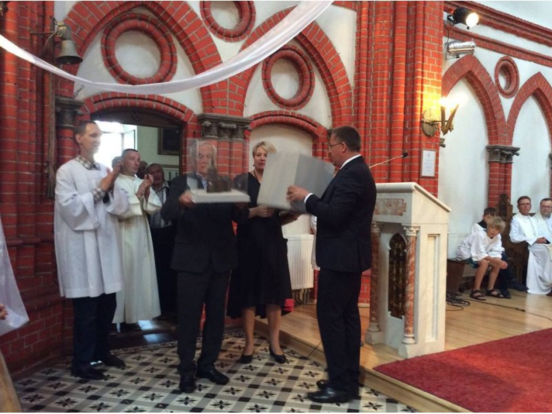 """Netradiciniai tradiciniai Šv. Roko atlaidai: ištartas """"ačiū"""" išvykusiam klebonui"""