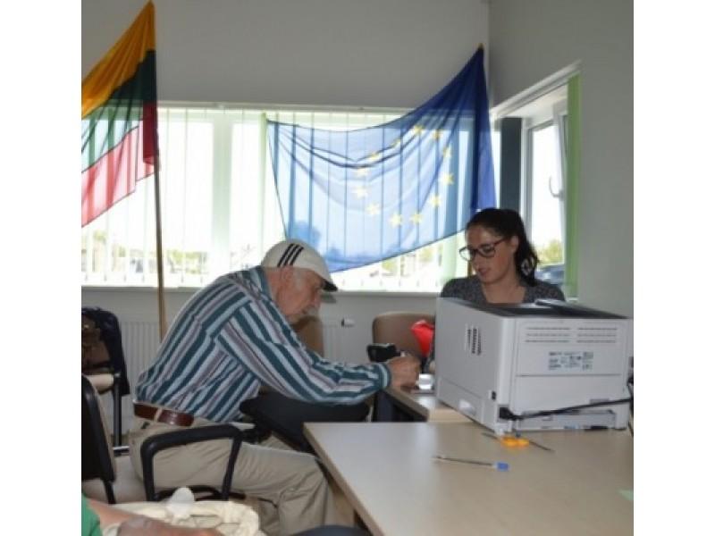 Išankstiniame balsavime Palangoje rinkėjai buvo itin aktyvūs