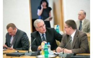 Meras Š. Vaitkus Vilniuje aptarė kurortams aktualius klausimus