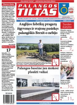 Palangos tilto laikraštis, Data: 2019-04-12, Numeris: 17 (1690)