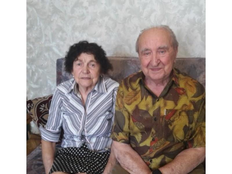 Elena ir Romanas  Songailos – šešiasdešimt metų kartu.