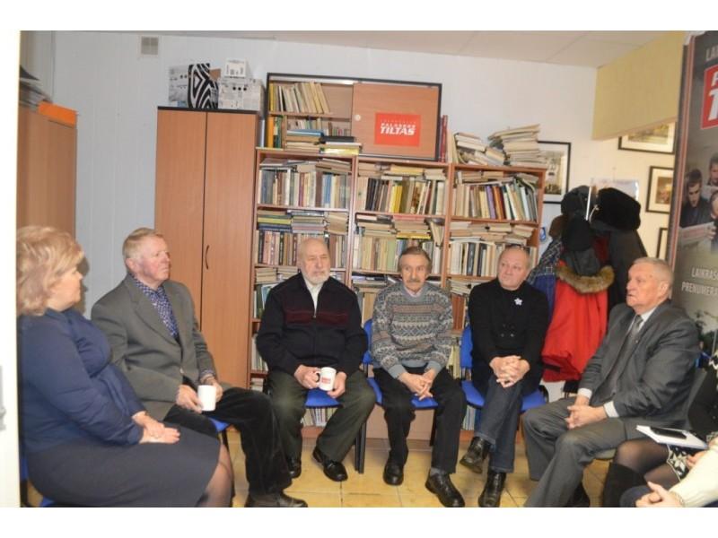 """""""Palangos tilto"""" antradienio kavarytyje susitiko sausio 13-osios įvykių Palangoje dalyviai"""