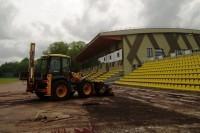 Palanga tesi pažadą sportininkams – pradėta stadiono renovacija