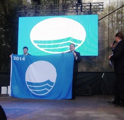 Palangos paplūdimio aukščiausią kokybę vėl liudys Mėlynoji vėliava