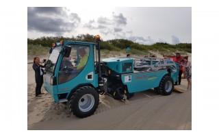 Palangos paplūdimiuose – moderni smėlio valymo technika