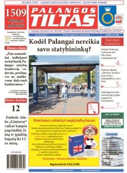 Palangos tilto laikraštis, Data: 2016-09-05, Numeris: 66 (1500)