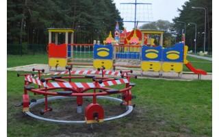 Palangos vaikų parke – dvi naujos atrakcijos