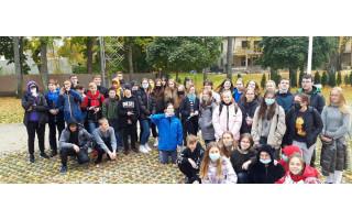 """""""Baltijos"""" pagrindinės mokyklos aštuntų klasių mokiniai dalyvavo orientacinėse varžybose """"Ar pažįsti Palangą?"""