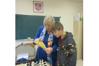 Palangos sanatorinėje mokykloje – renginys Pasaulinei baltosios lazdelės dienai paminėti