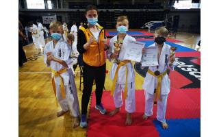 Palangiškis Kajus Loda tapo Lietuvos kyokushin karate vaikų čempionu