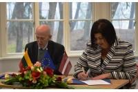 Palangos kurorto muziejus ir Pavelostos (Latvija) kraštotyros muziejus sutarė bendradarbiauti