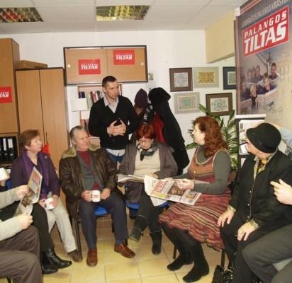 Valanda prie puodelio kavos su laikraščio skaitytojais buvo ir turininga, ir maloni.