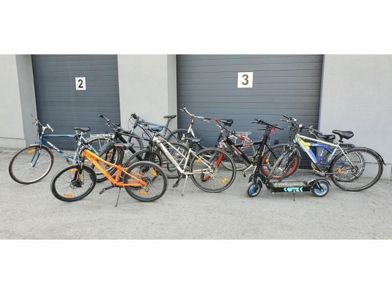 Palangoje sulaikyti 4 dviračių vagys, įtariami daugiau kaip 20 dviračių ir 1 paspirtuko vagyste