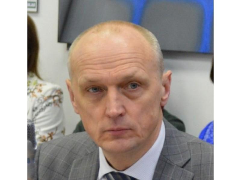 """Palangos miesto savivaldybės Tarybos narys ir UAB """"Kretingos vandenys"""" direktorius Gediminas Valinevičius"""
