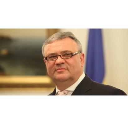 Ukrainos garbės konsulas Klaipėdoje palangiškis Genius Vygantas. M. Ambrazo nuotr.
