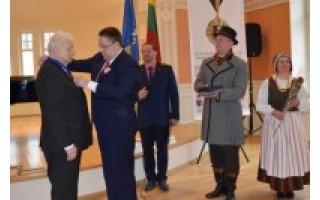 Palangiškių sueigoje inauguruoti miesto Garbės piliečiai