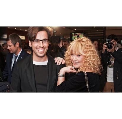 Maksimas Galkinas su žmona Ala Pugačiova