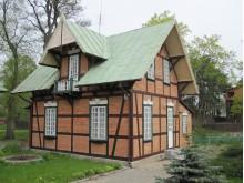 """Kartu su vila """"Gražina"""" statytas ir paviljonas."""