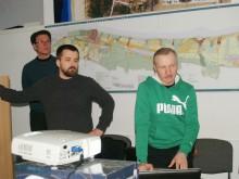 Architektams S.Daniui ir P.Daniui koncepciją pristatyti padėjo ir tituluotas jojikas, žirgų sporto treneris Z.Šeškas.